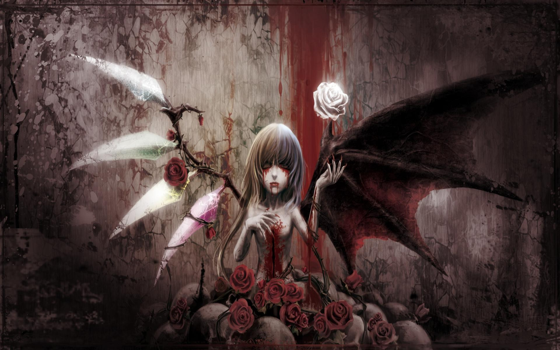 1920x1200 horror anime wallpaper 4880357 - action-adventure.info