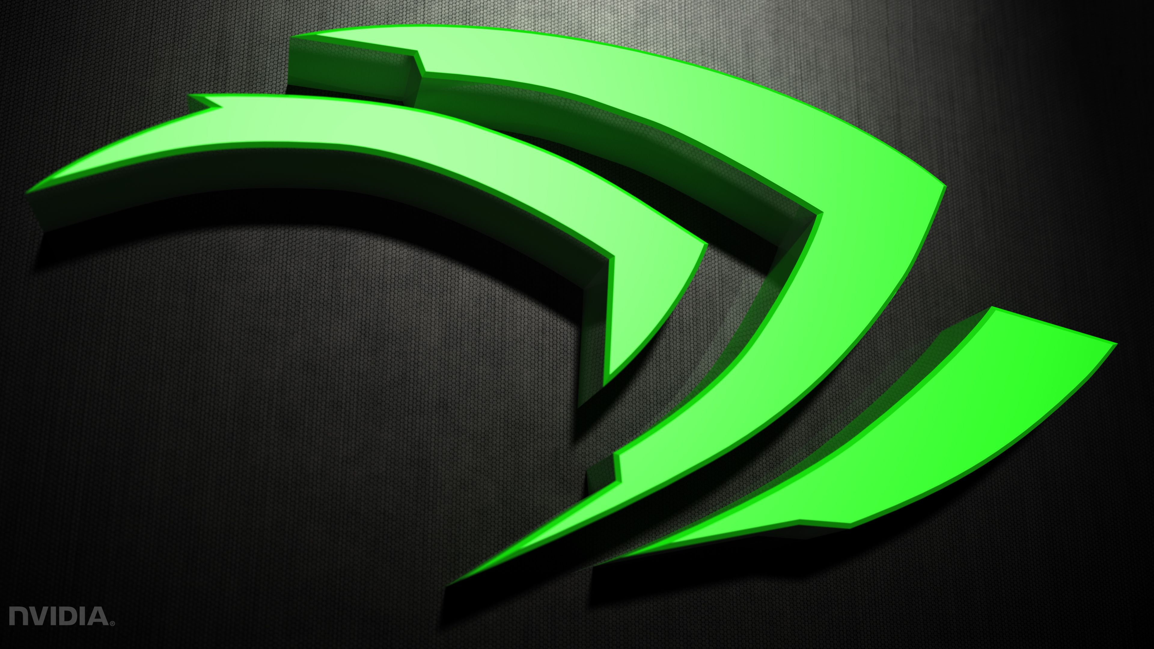 3840x2160 Nvidia simple 3D 4k Ultra HD Wallpaper and Background Image ...
