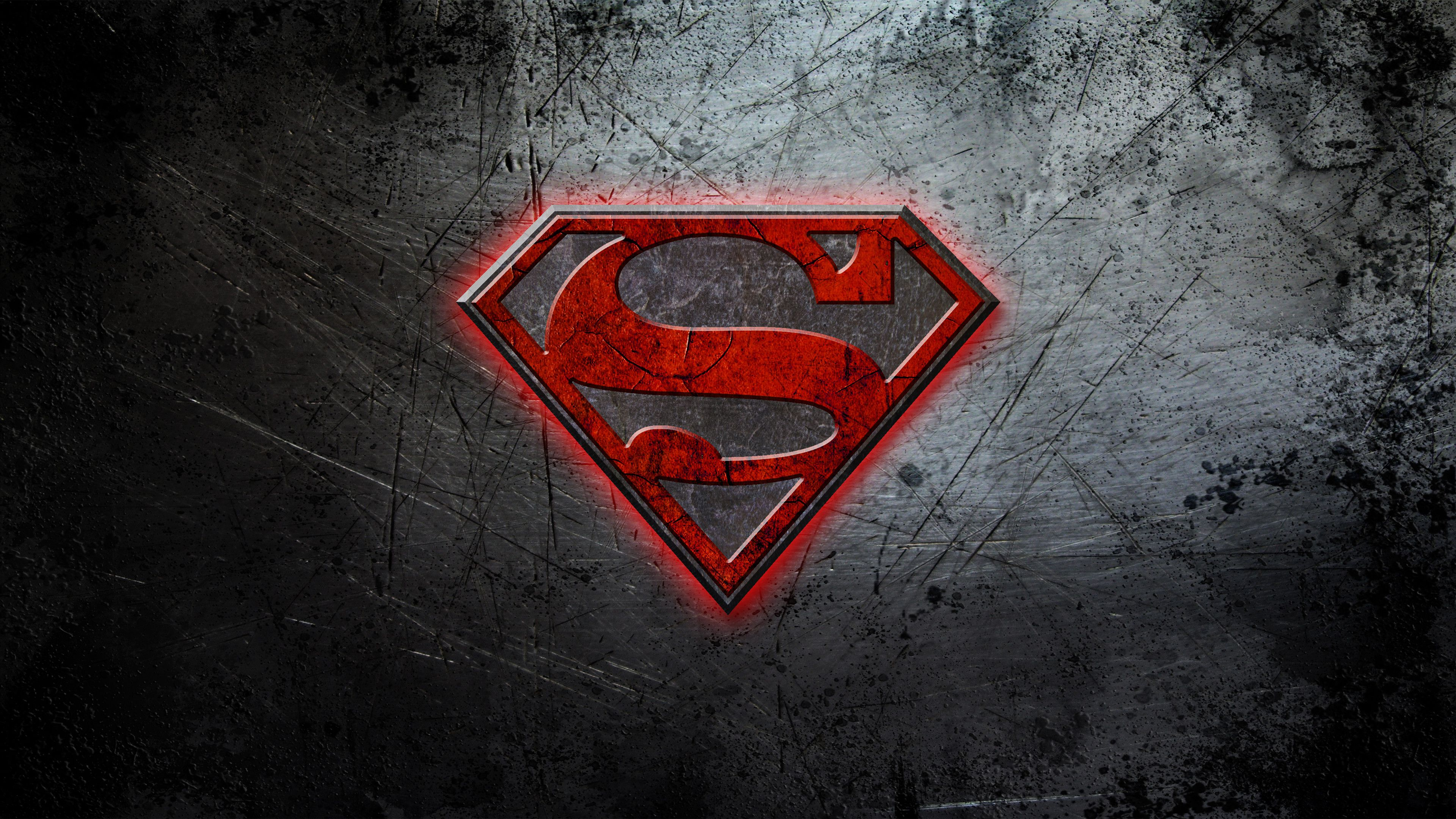 3840x2160 Superman Logo 4k, HD Superheroes, 4k Wallpapers, Images, Backgrounds ...