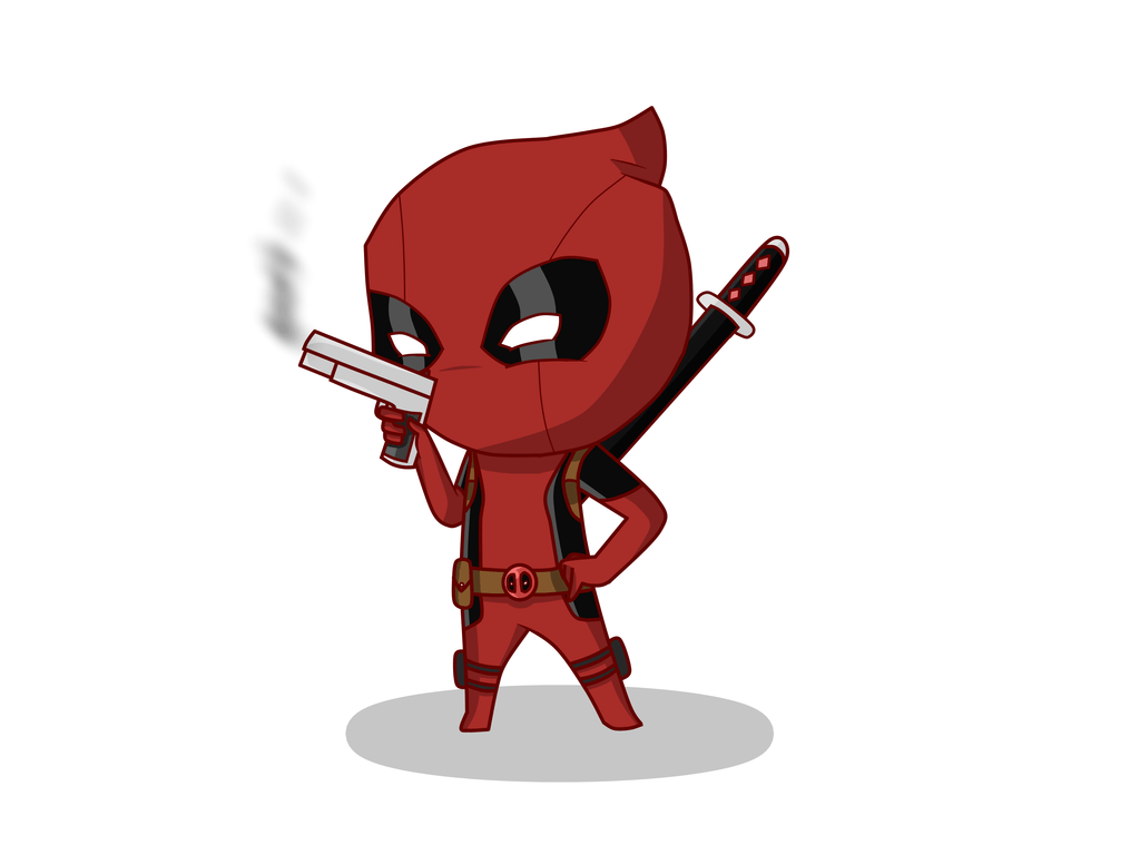 1024x768 Chibi Deadpool by Gameaddict1234 on DeviantArt