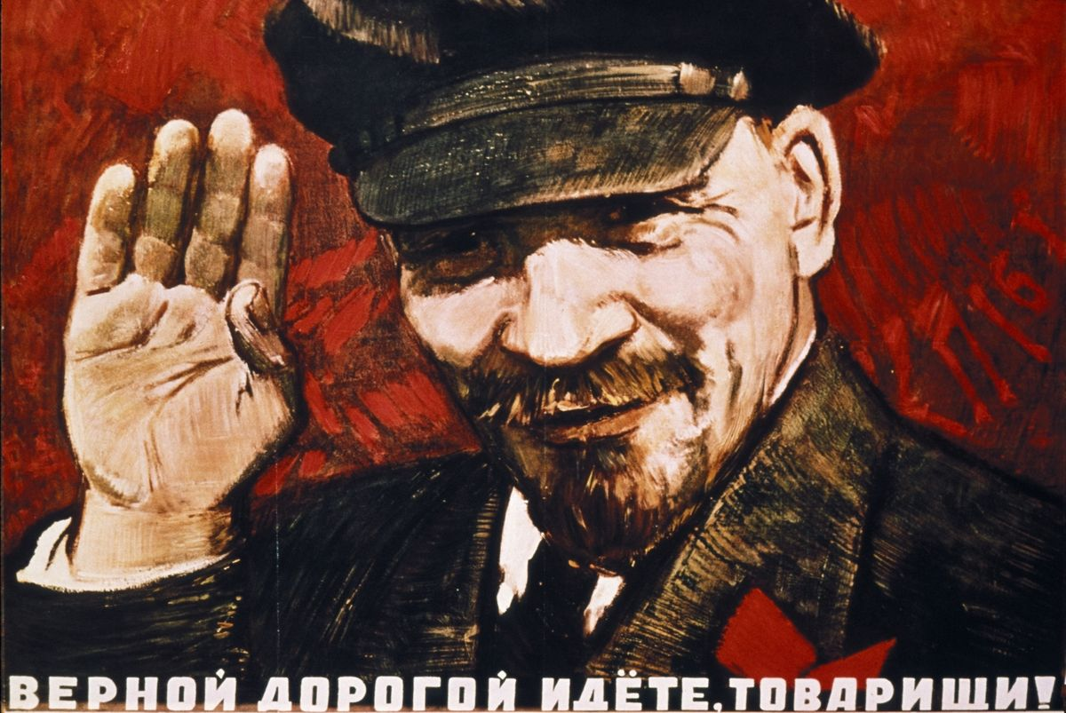 1200x803 35 Communist Propaganda Posters Illustrate The Art And Ideology Of ...