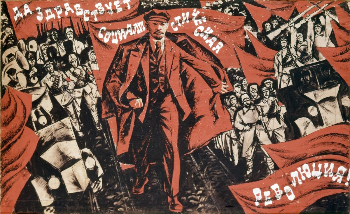 1200x732 35 Communist Propaganda Posters Illustrate The Art And Ideology Of ...