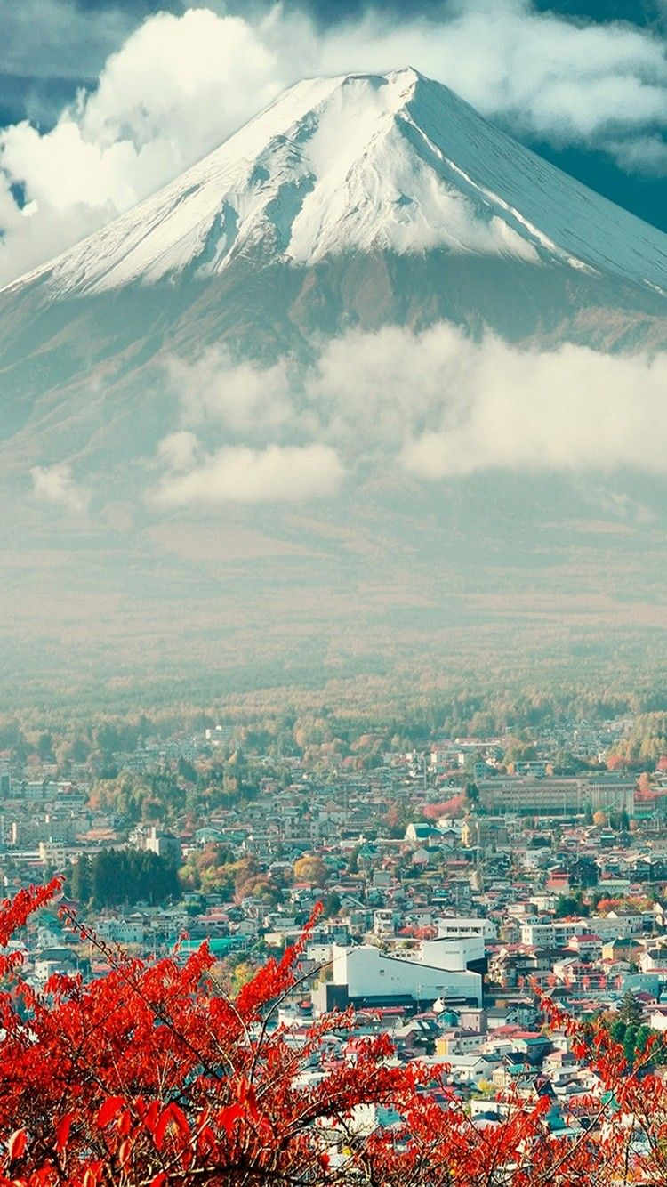 750x1334 Mount Fuji In Japan iphone 6 wallpaper - Download Retina HD iPhone 6 ...