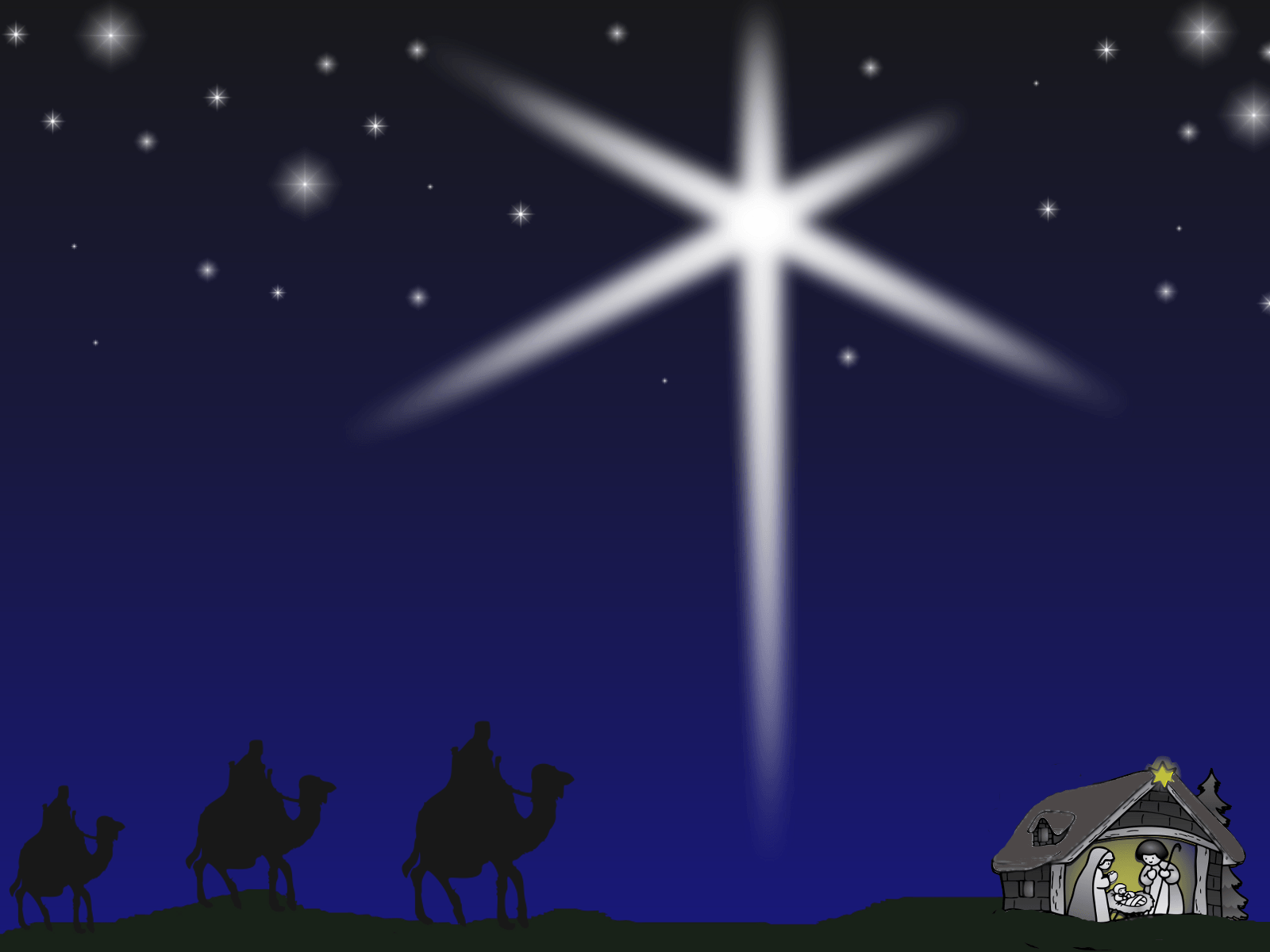 1600x1200 Christmas Nativity Wallpaper - Wallpapers Browse