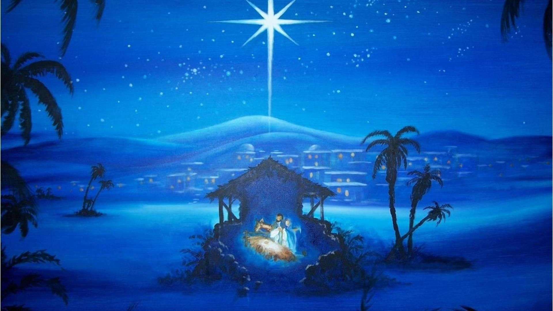 1920x1080 Christmas Nativity Scene wallpaper ·① Download free HD backgrounds ...