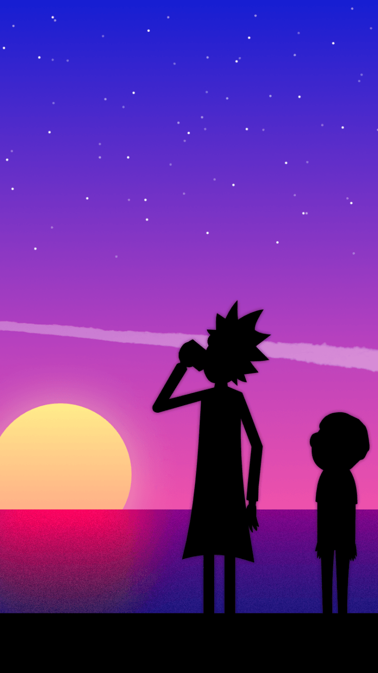 750x1334 TV Show/Rick And Morty (750x1334) Wallpaper ID: 672596 ...