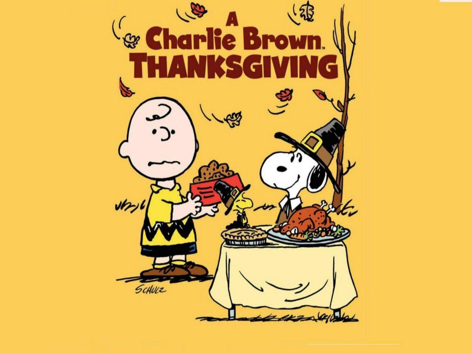 1600x1200 Peanuts Thanksgiving Wallpapers
