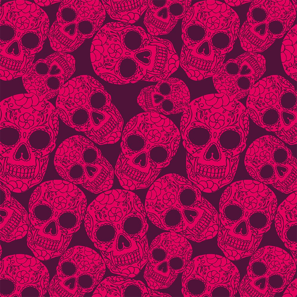 1000x1000 Pink Skull Wallpaper - Wallpapers Browse