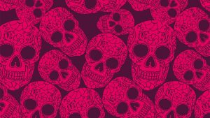 Black and Pink Skull Wallpapers – Top Free Black and Pink Skull Backgrounds
