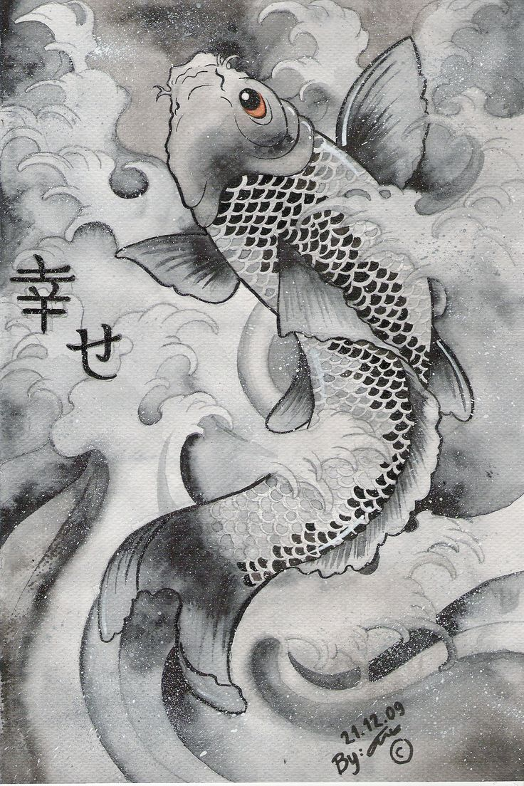 736x1104 japanese koi art wallpaper - Google Search | All Things Japanese ...