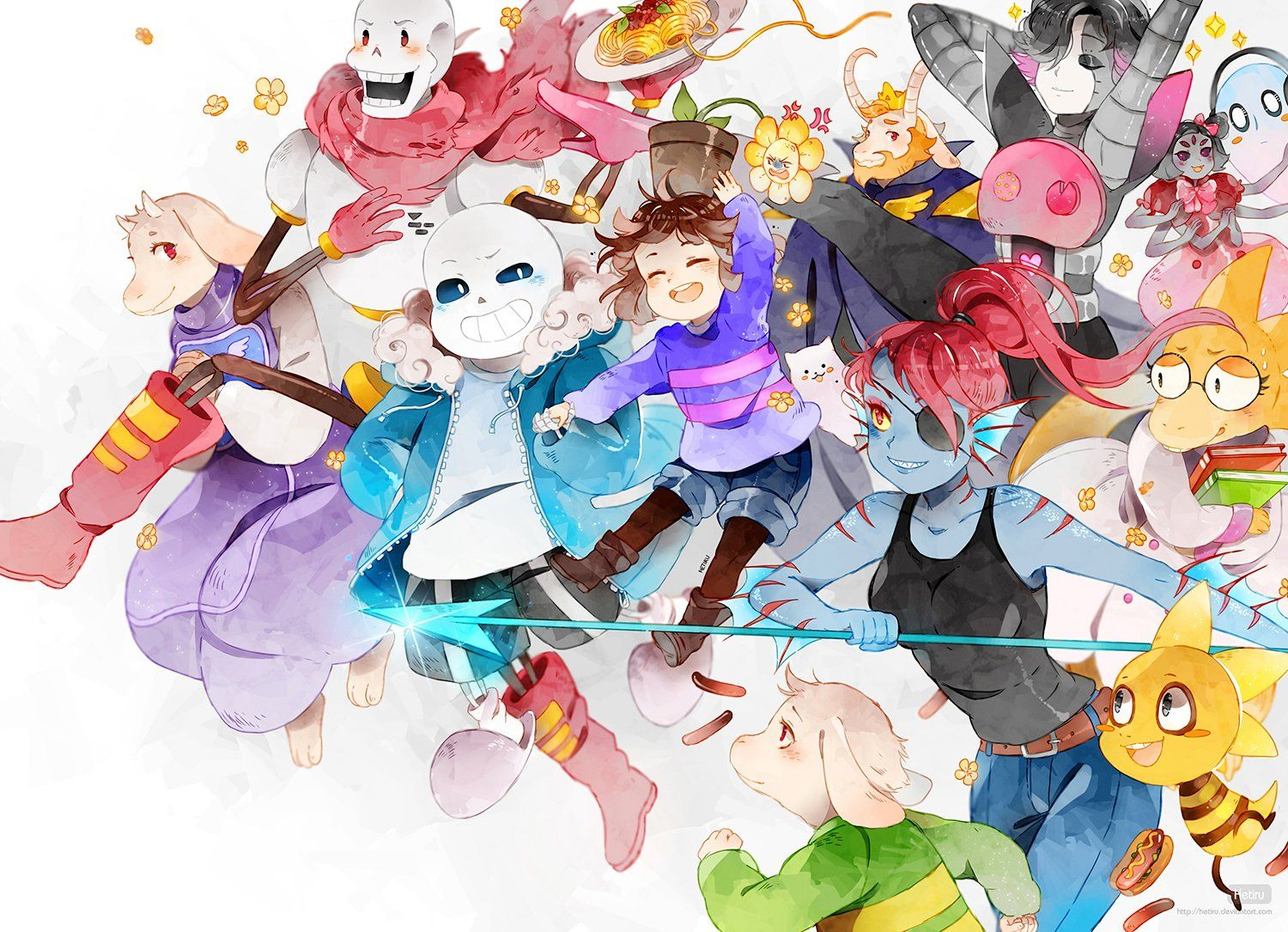 1500x1085 276 Undertale HD Wallpapers | Background Images - Wallpaper Abyss