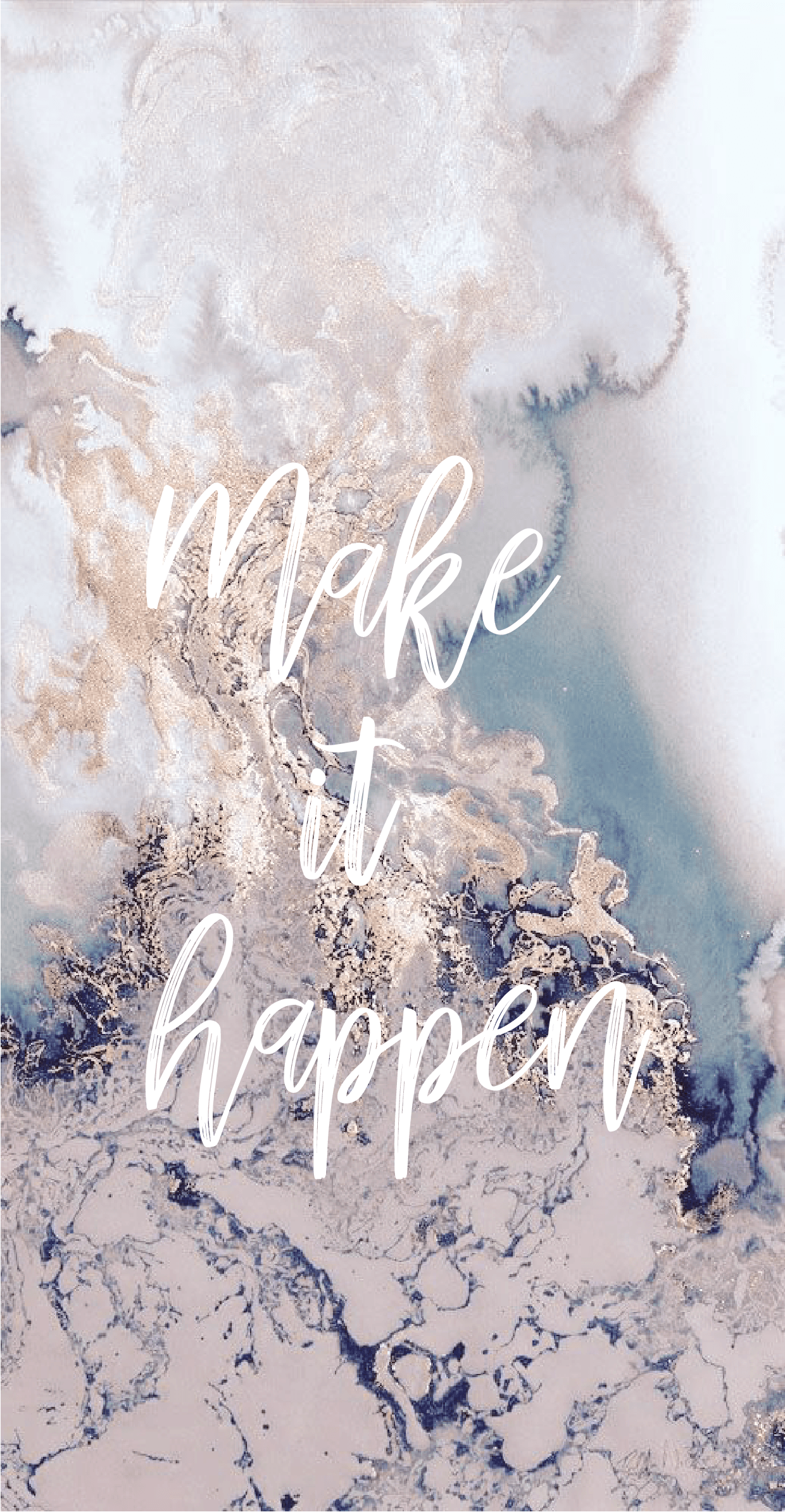 1240x2388 marble #wallpaper #iphone #background #makeithappen #quotes #inspo ...
