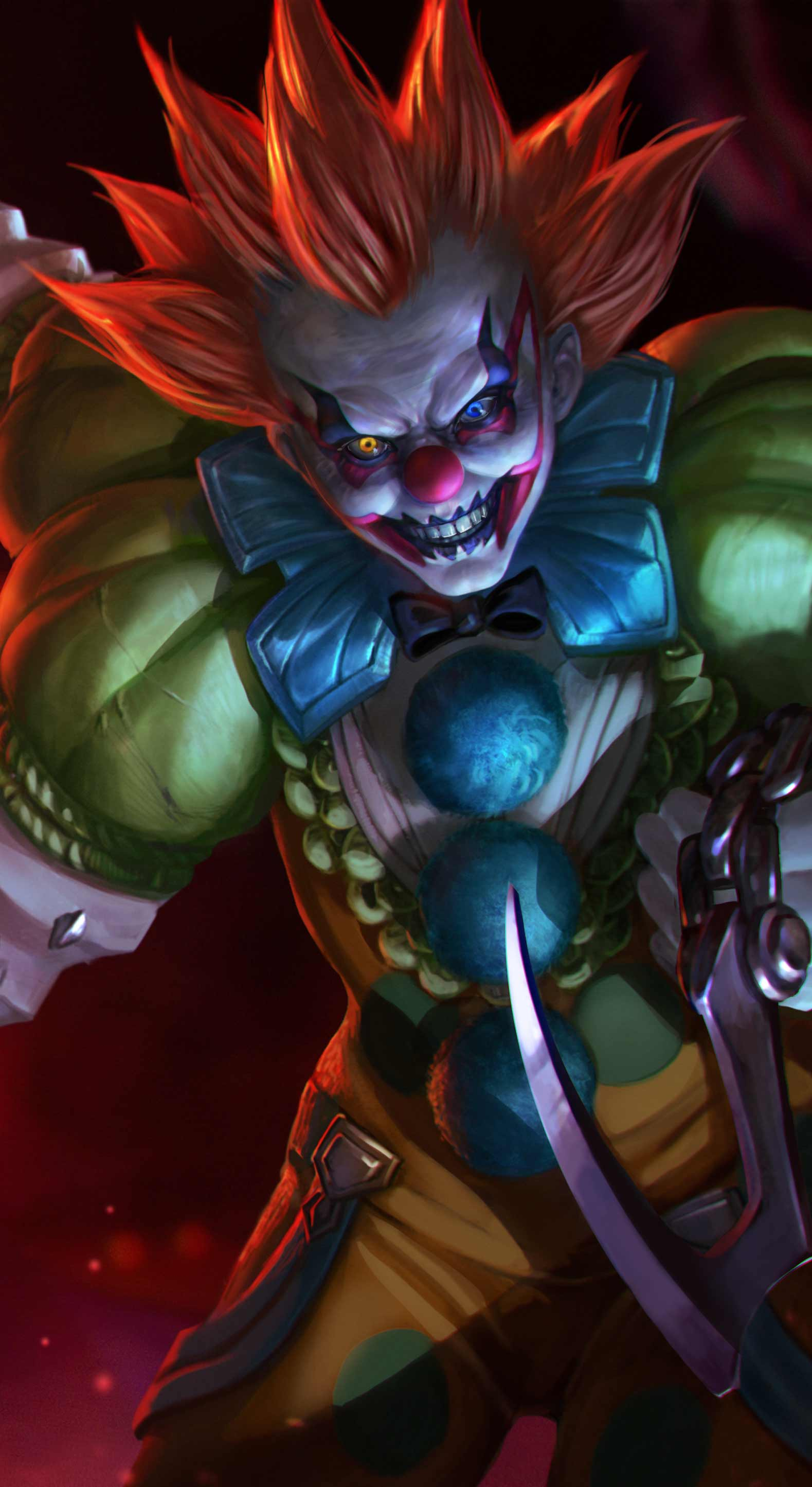1579x2890 Lurking in the Shadows... the Rare 'Clownwalker!' | Vainglory
