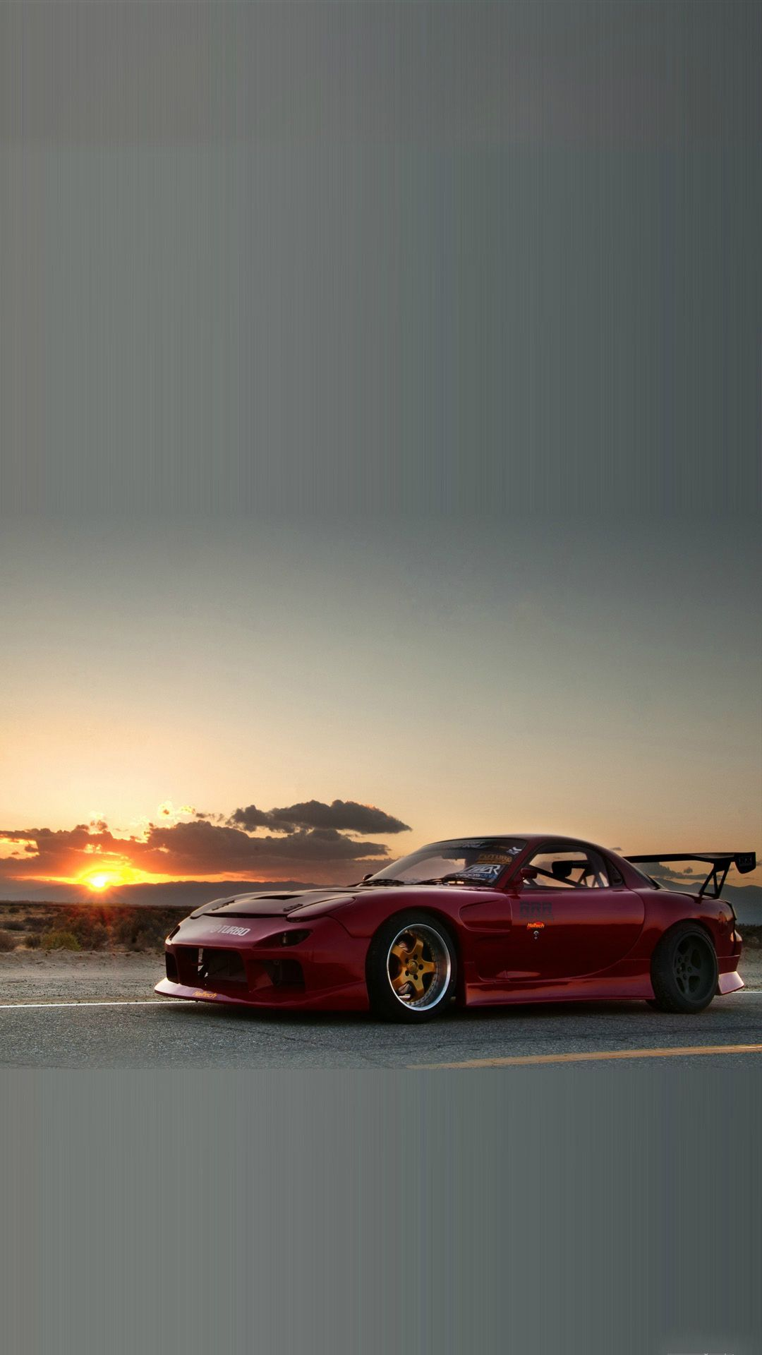1080x1920 Mazda RX7 Sunset #iPhone #7 #wallpaper | iPhone 8 Wallpapers | Rx7 ...