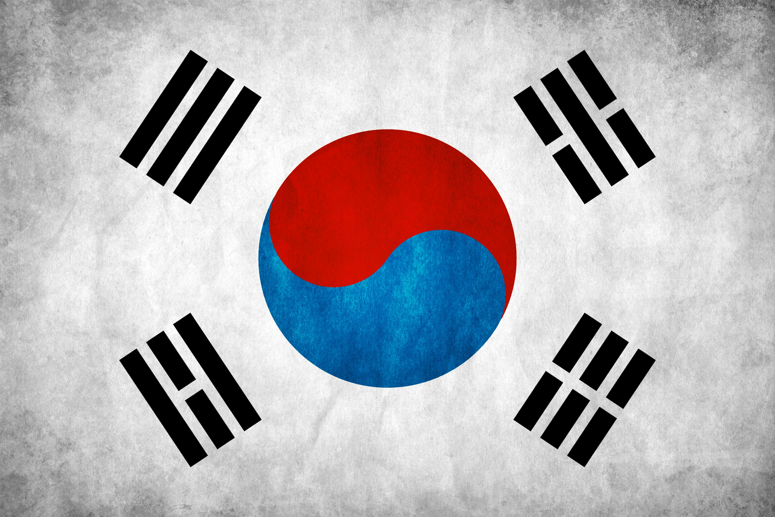 3000x2001 3 Flag Of South Korea HD Wallpapers | Background Images - Wallpaper ...