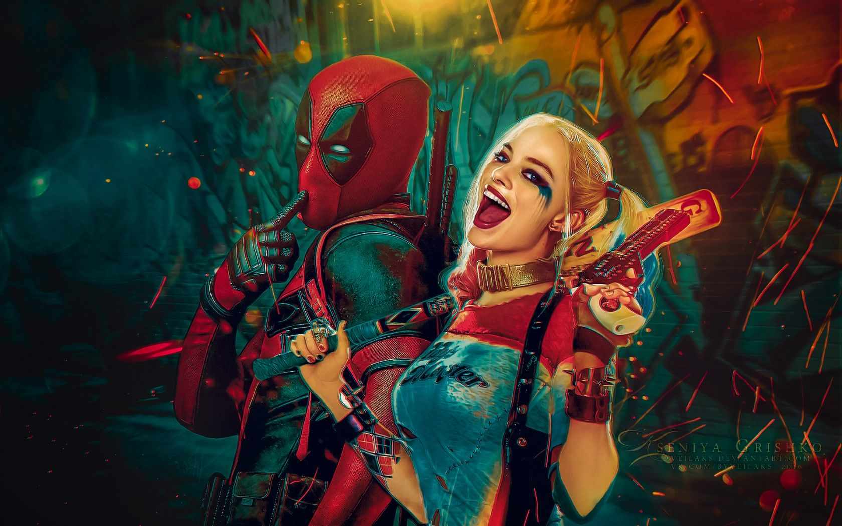 1680x1050 Harley Quinn Wallpapers HD Backgrounds, Images, Pics, Photos Free ...