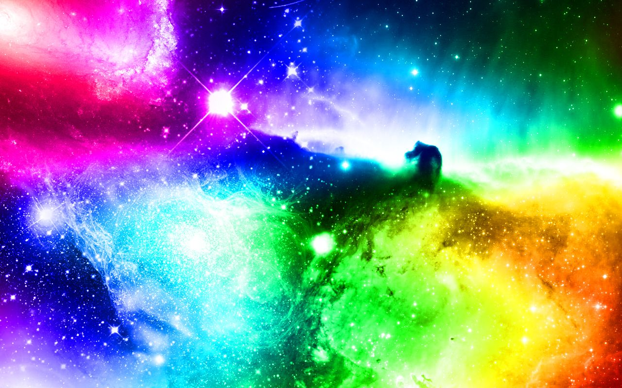 1280x800 Spectrum Galaxy by roxasora64 on DeviantArt | Colorful Commentary ...