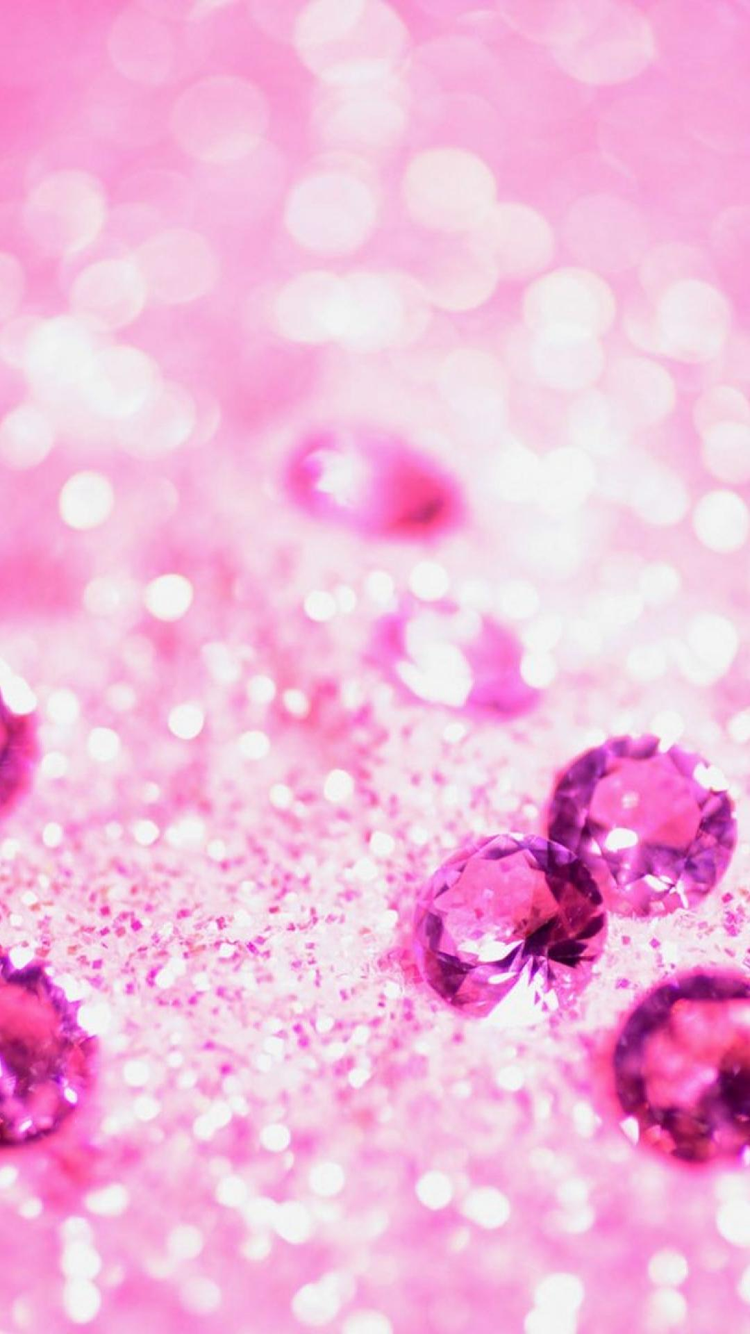 1080x1920 Lots of pink jewelry | Girly glitter iPhone wallpapers ...