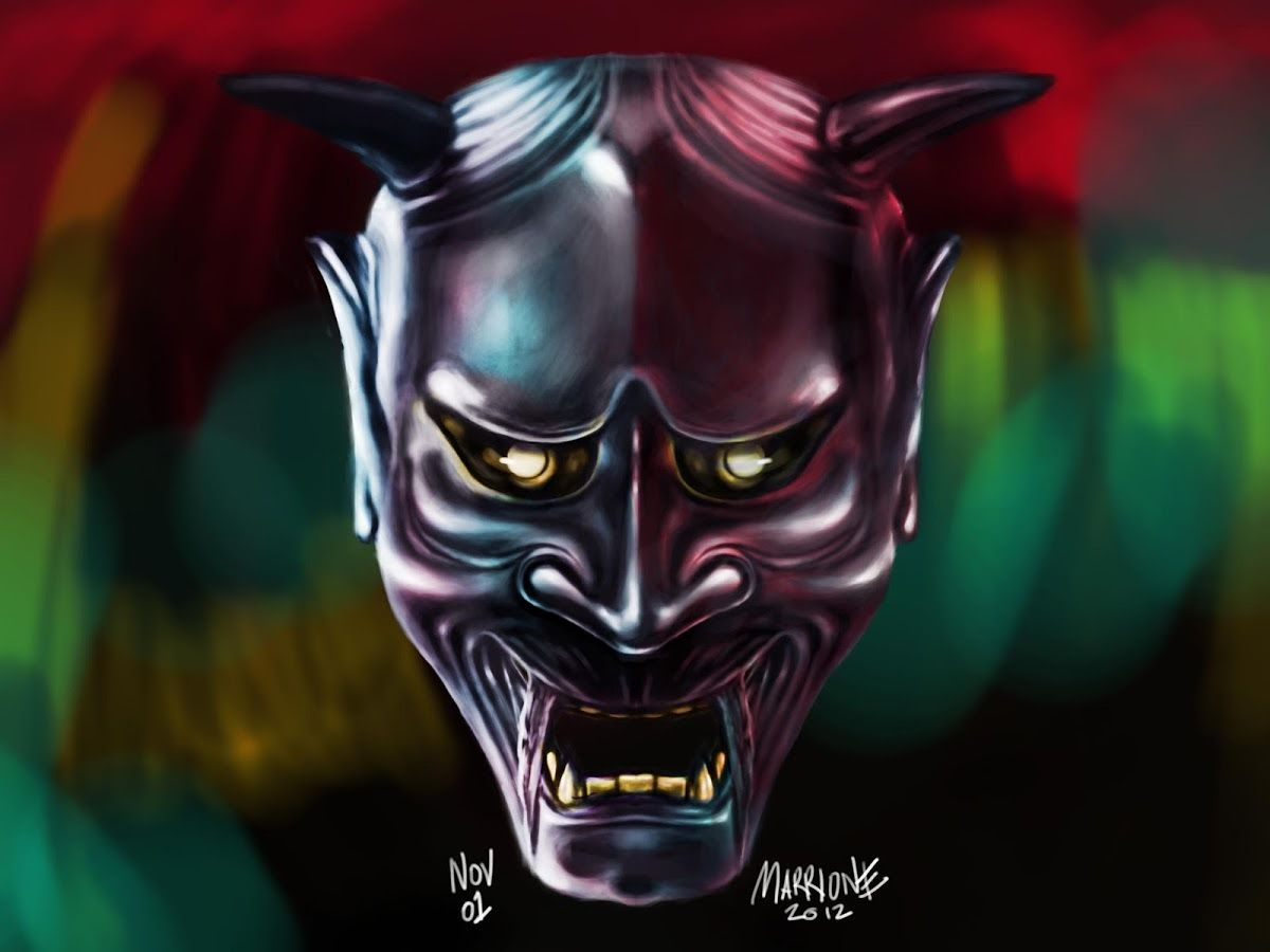 1200x900 Hannya Mask Live Wallpaper 1.00 APK Download - Android ...