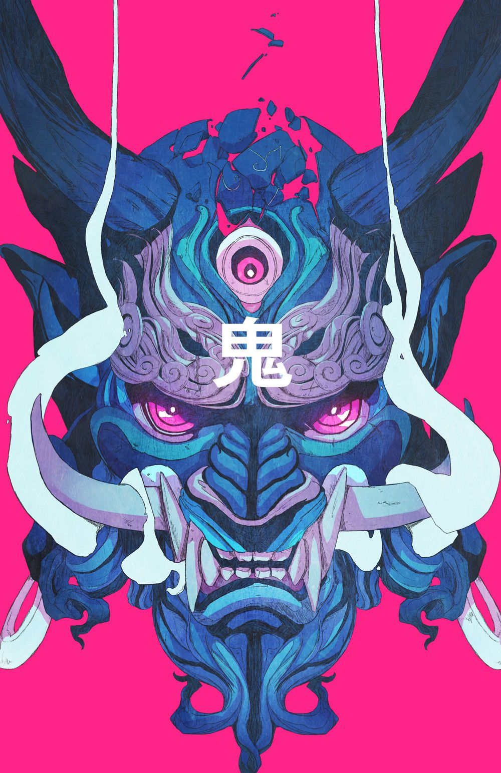 1000x1544 Wallpaper : mask, demon, samurai 1000x1544 - Kmaco - 1213534 - HD ...