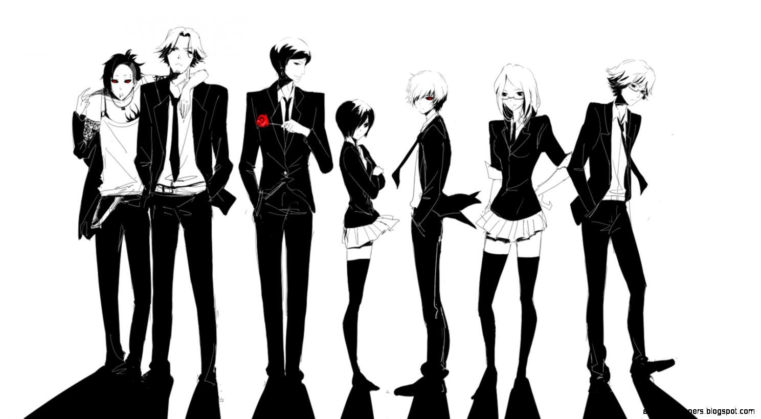 1488x819 Tokyo Ghoul Characters Wallpaper | All HD Wallpapers