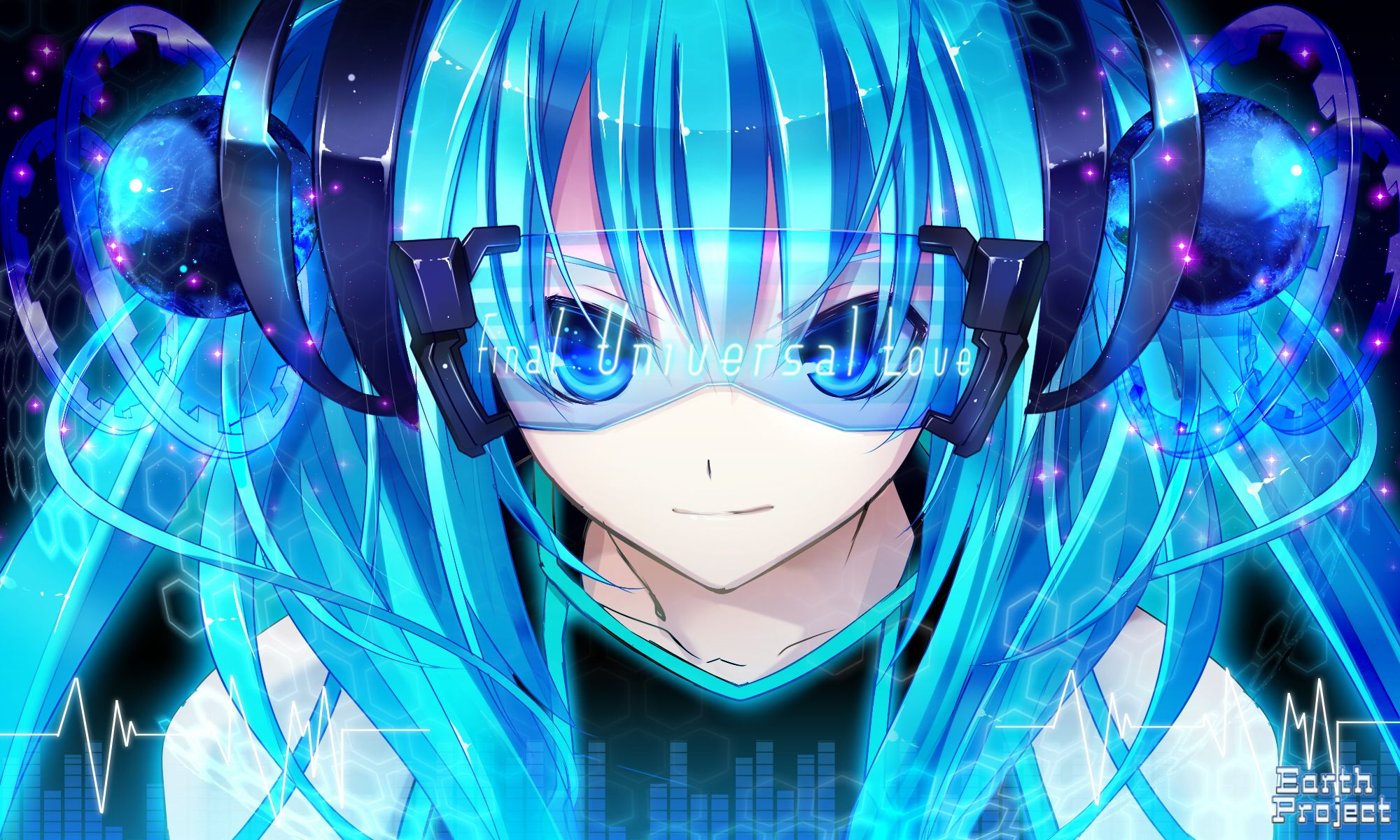 2000x1200 5955 Hatsune Miku HD Wallpapers | Background Images - Wallpaper Abyss