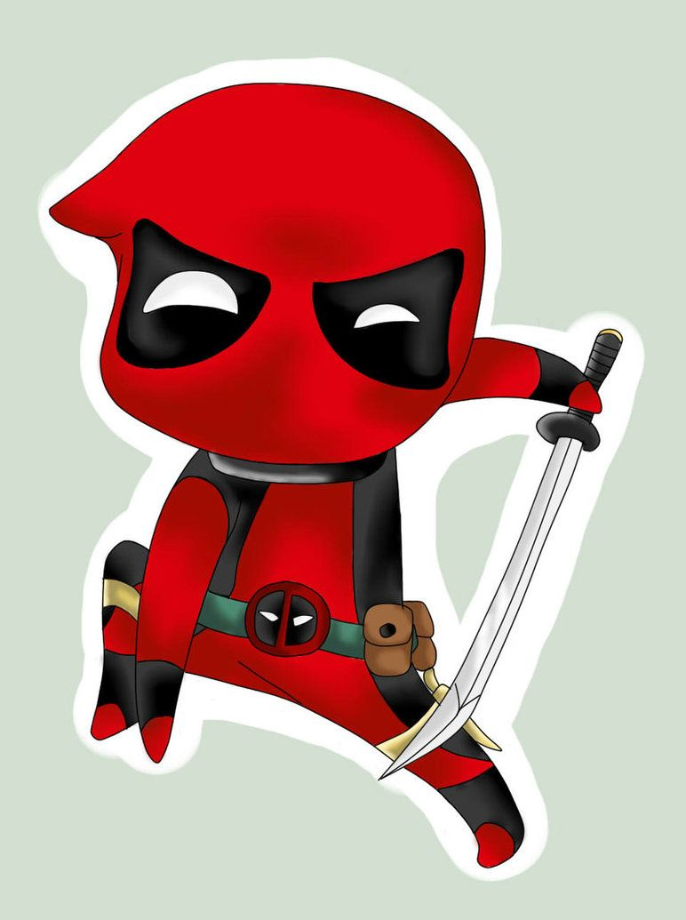 772x1035 chibi:. deadpool by Blue-Strawberryy on DeviantArt