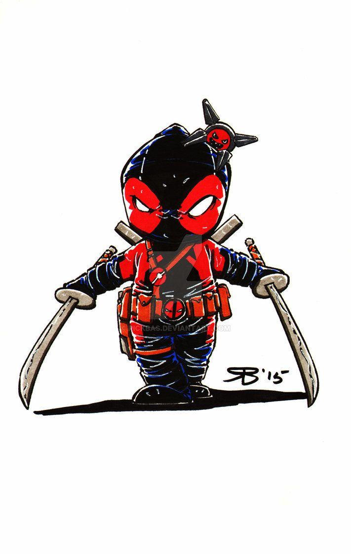 711x1123 Chibi Anti DeadPool by RickBas on DeviantArt