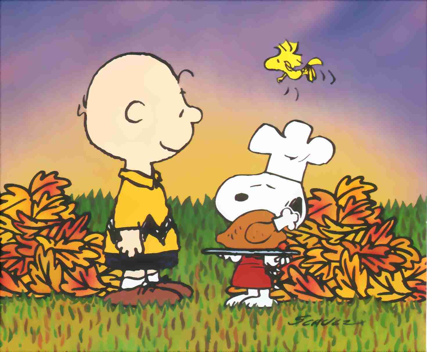 1470x1210 Thanksgiving Charlie Brown Wallpapers HD   Thanksgiving Day ...