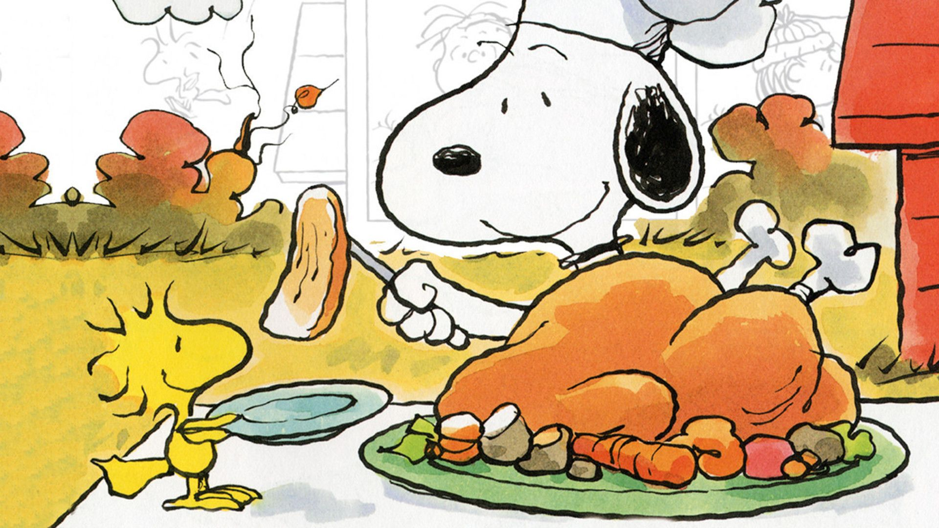 1920x1080 Charlie Brown Thanksgiving Wallpaper (42+ images)