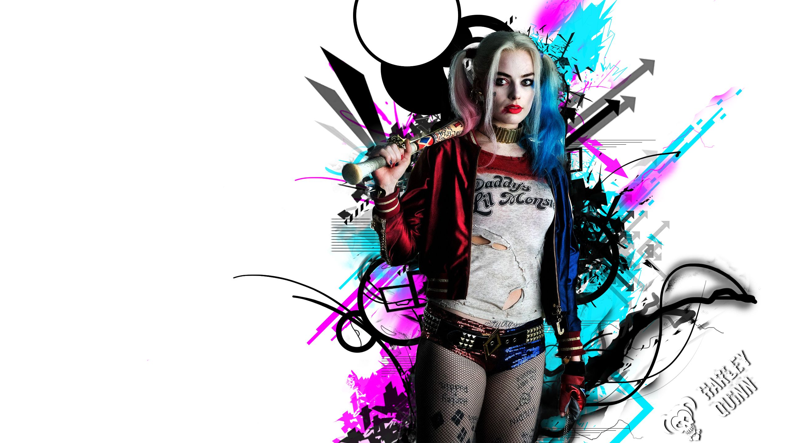 2560x1440 Harley Quinn HD, HD Movies, 4k Wallpapers, Images, Backgrounds ...