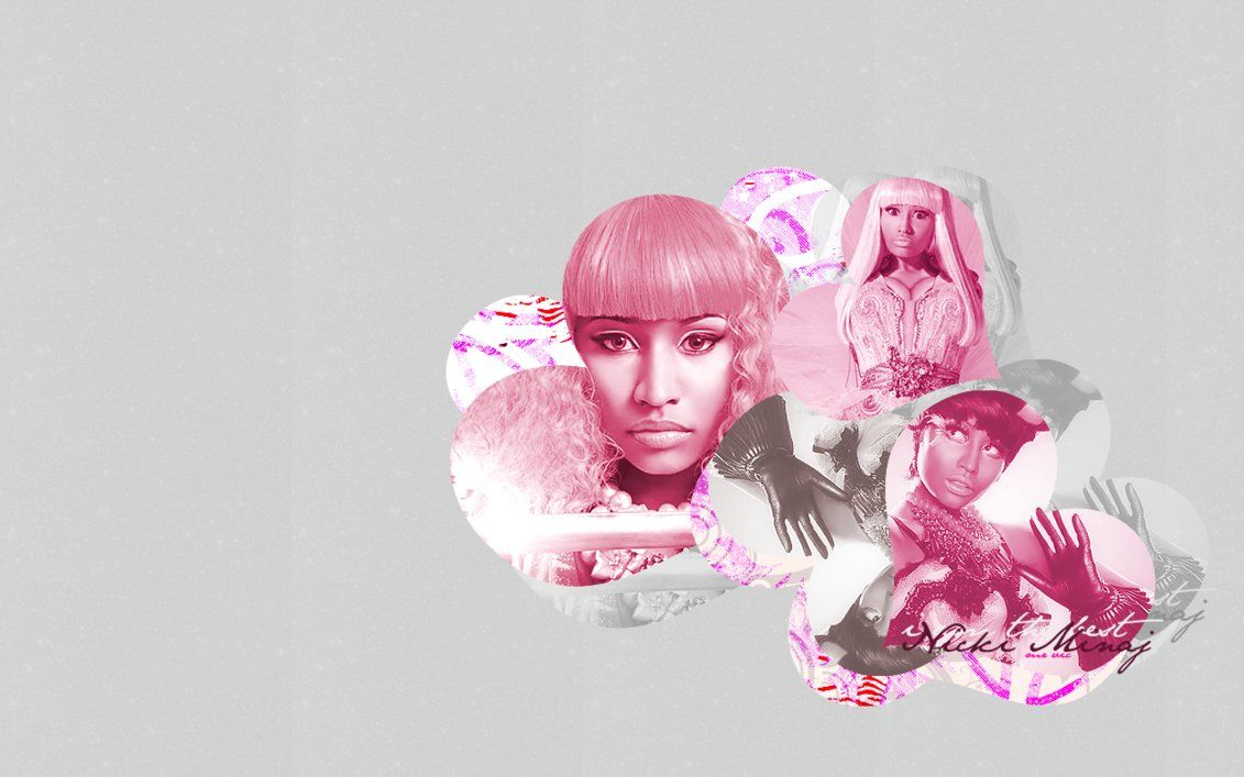 1131x707 WL: Nicki Minaj Pink by mrvictorbrs on DeviantArt