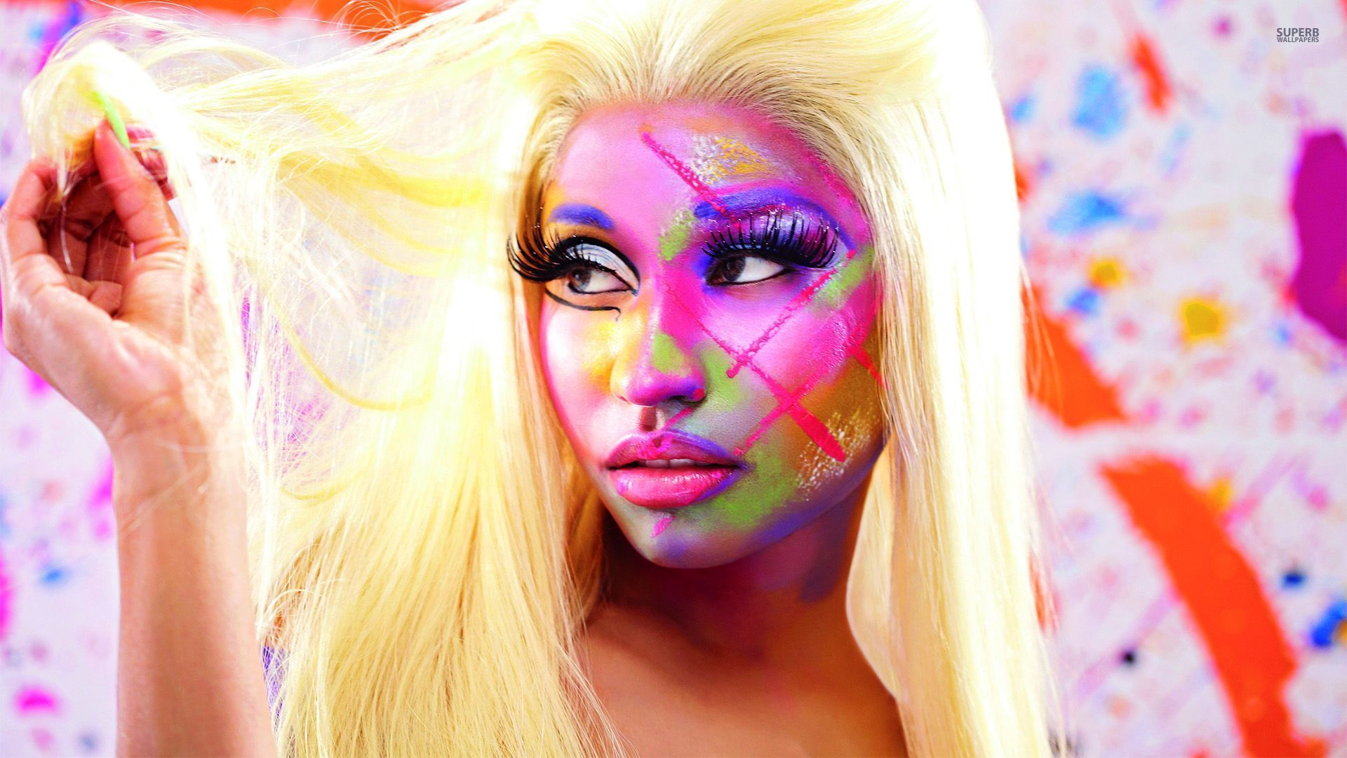 1920x1080 Nicki Minaj Pink Friday Roman Reloaded wallpaper - 1474092