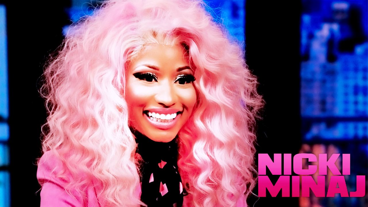 1280x720 Nicki Minaj Pink Hair Wallpaper | MOVIE