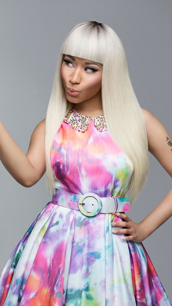720x1280 Download wallpaper 720x1280 nicki minaj, singer, actress, model ...