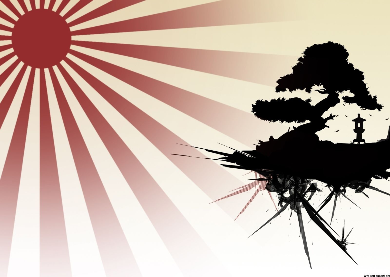 1600x1135 Japanese Rising Sun Art - Wallpapers Browse