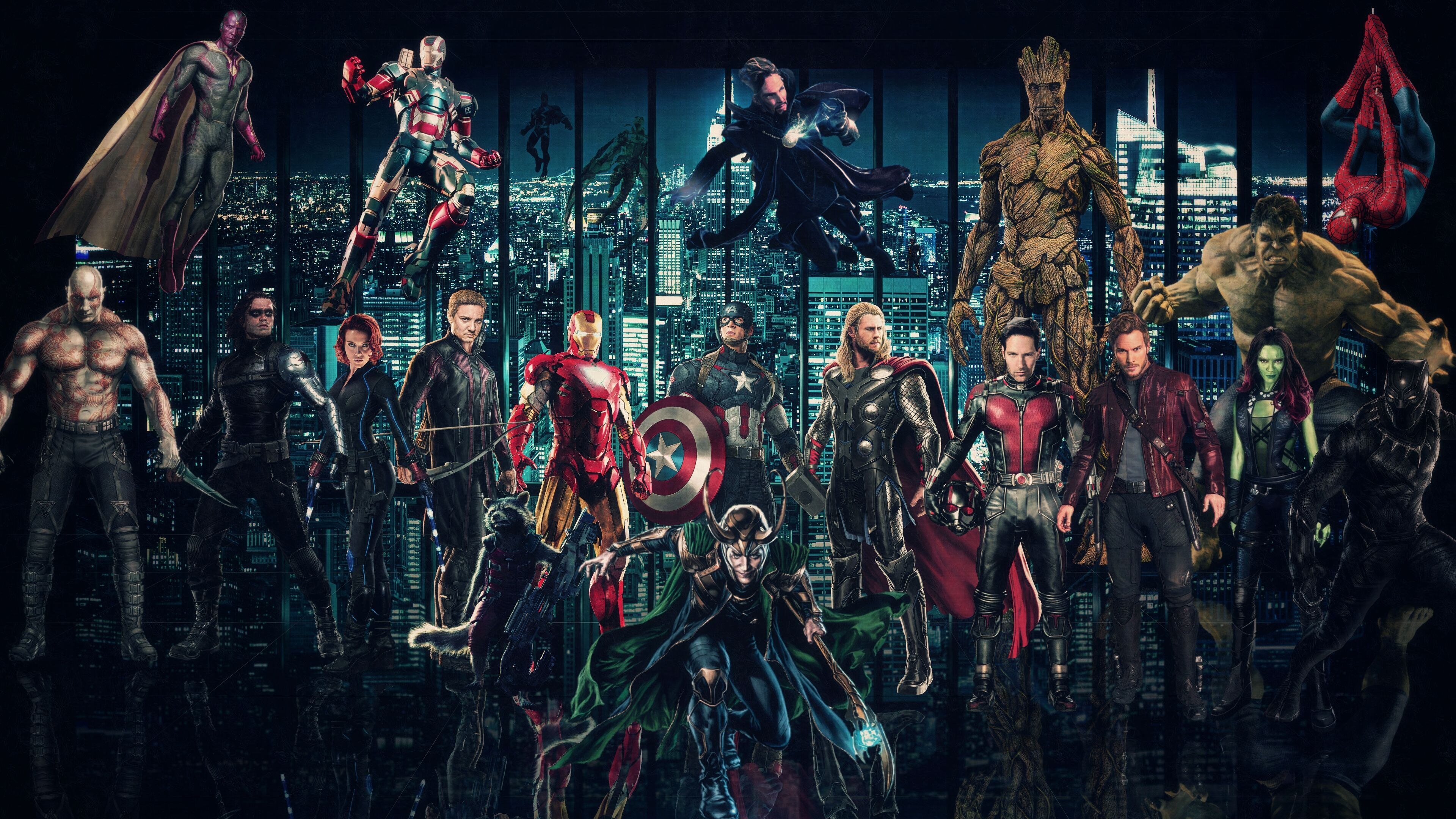 3840x2160 Marvel Cinematic Universe Wallpaper by http://theincrediblejake ...