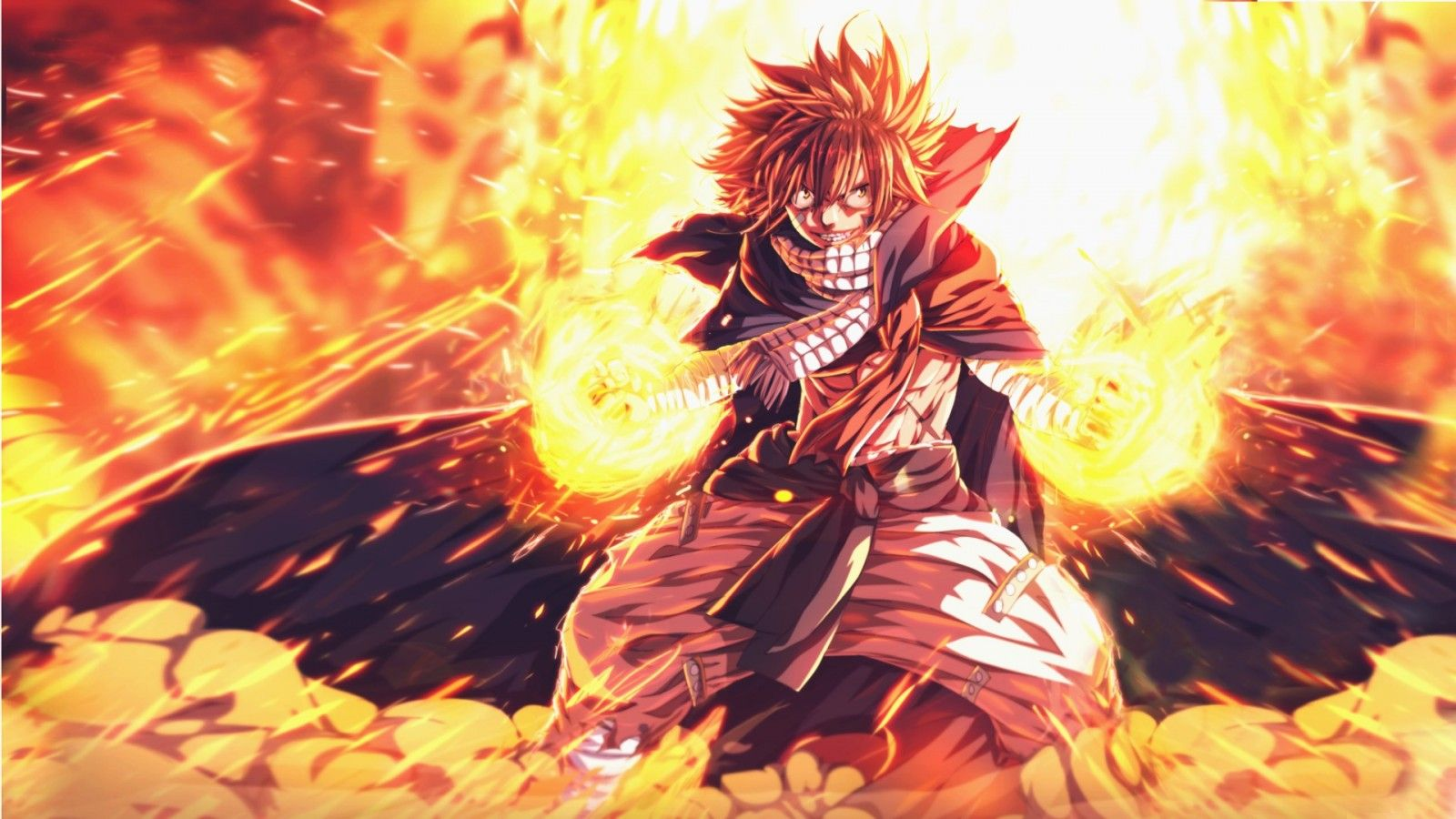 1600x900 Fairy Tail Natsu Wallpaper 35+ - HD wallpaper Collections - szftlgs.com