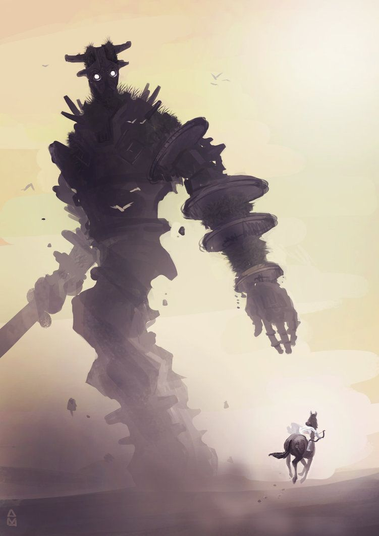 751x1063 Shadow of the Colossus by aaydo on DeviantArt