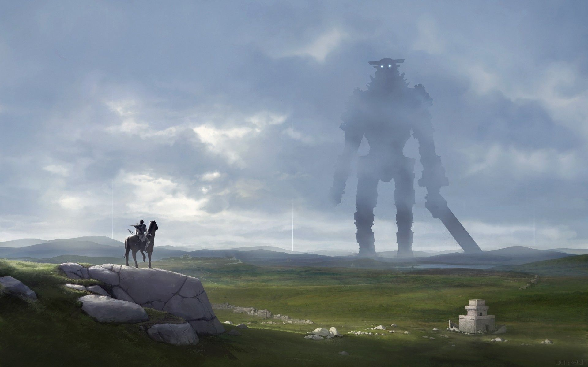1920x1200 Shadow of the Colossus wallpaper ·① Download free HD backgrounds ...