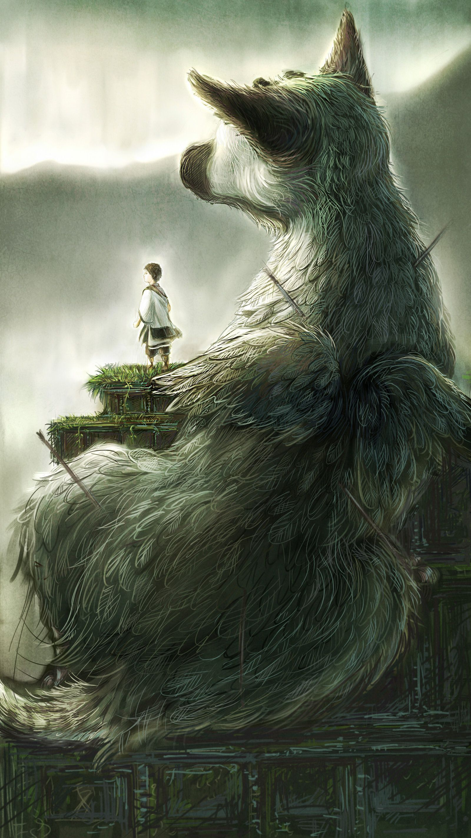 1600x2844 The Last Guardian...cannot wait for this game to FINALLY come out ...