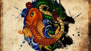 Japanese Koi and Dragon Wallpapers – Top Free Japanese Koi and Dragon Backgrounds