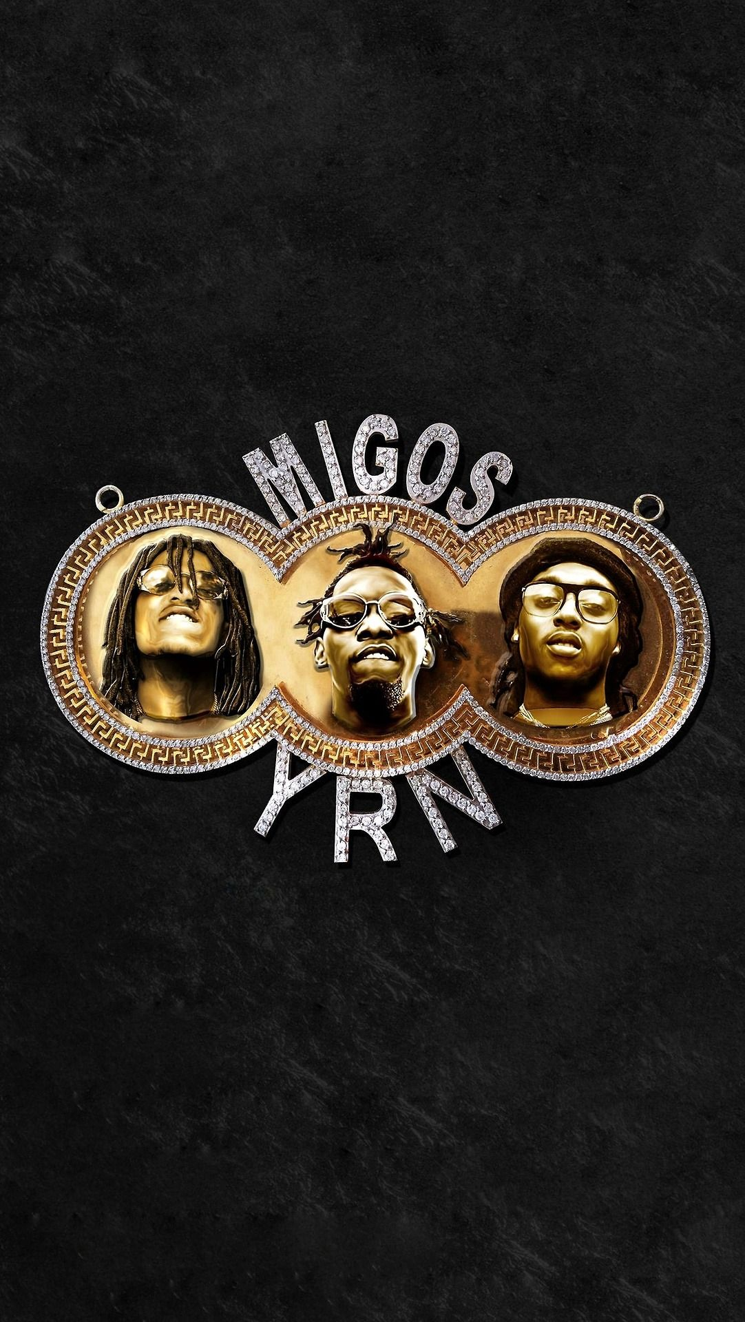 1082x1920 Music Mobile Wallpapers — Migos - Young Rich Nation