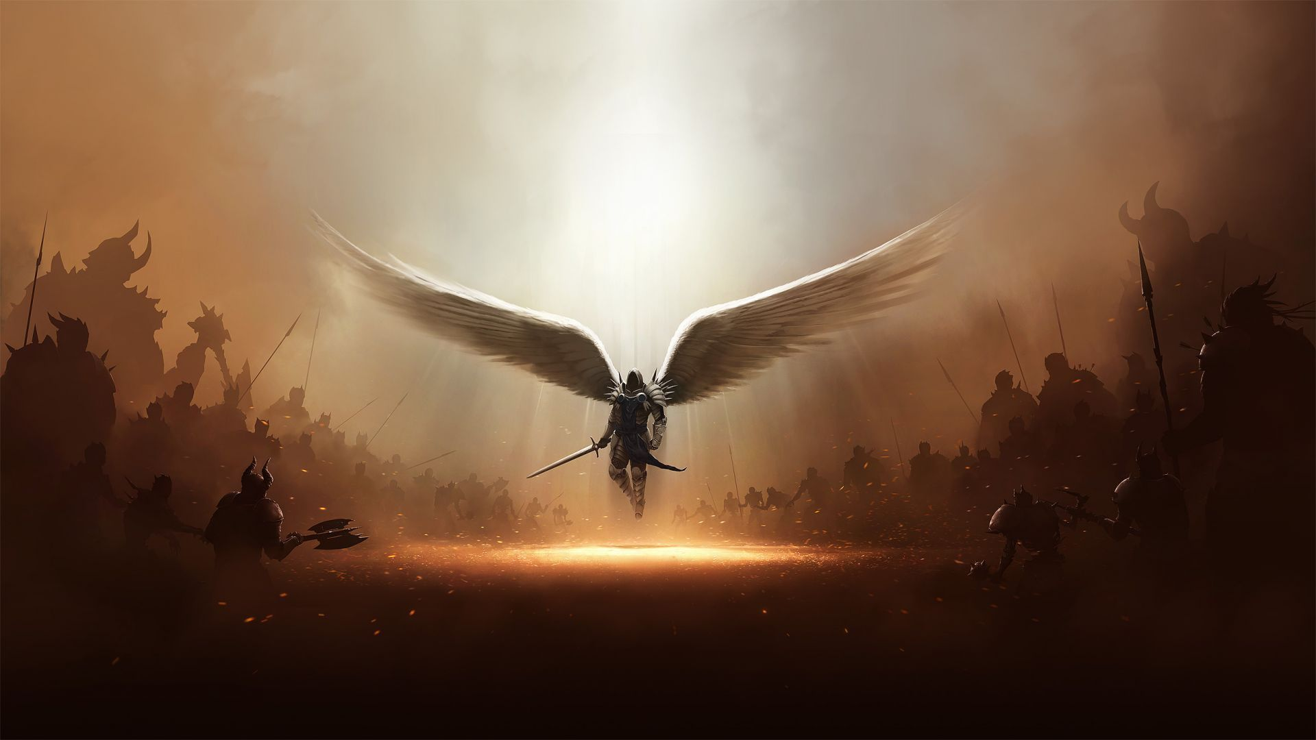 1920x1080 Collection of Animated Angel Wallpaper on HDWallpapers 1920×1080 ...