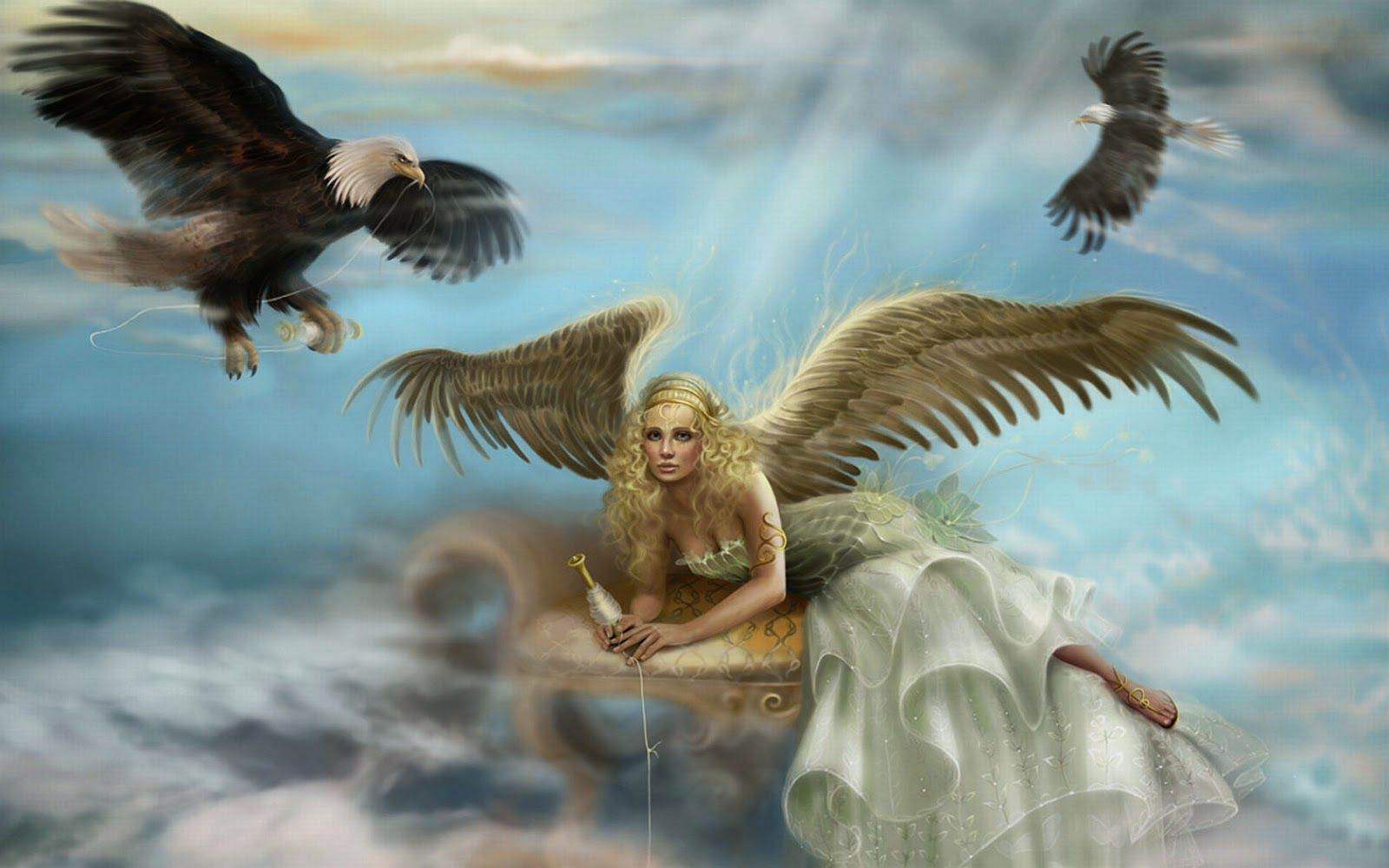 1600x1000 Angel Wallpapers - Beautiful wallpapers collection 2014