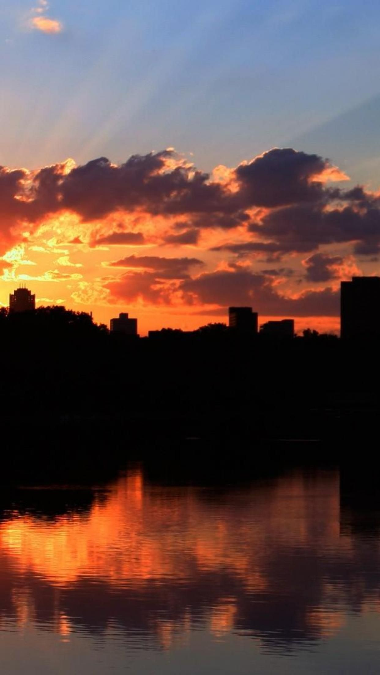 1242x2208 World USA Minneapolis Minneapolis sunset Minnesota HD Wallpapers ...
