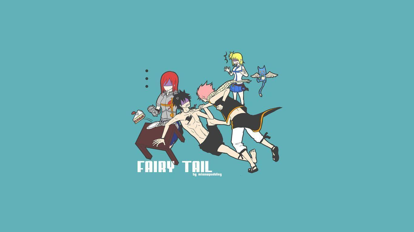 1366x768 Fairy Tail Happy Wallpapers