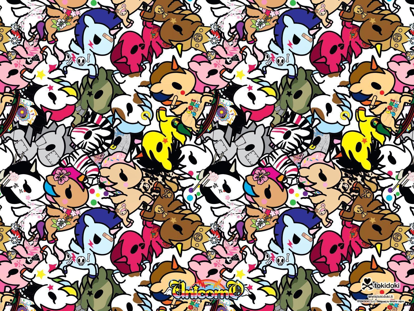 1600x1200 Tokidoki Desktop Wallpapers