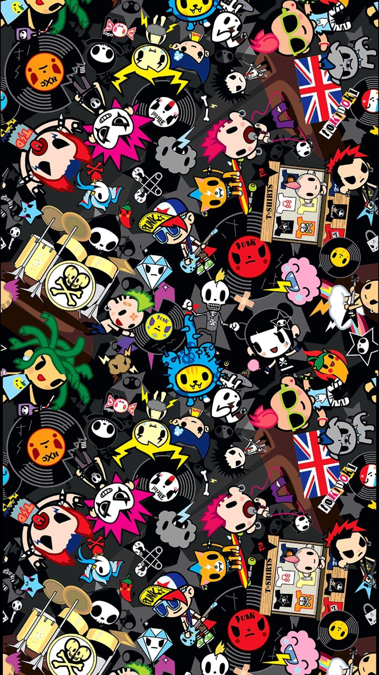 1242x2208 Hello Kitty Tokidoki Wallpaper (56+ images)