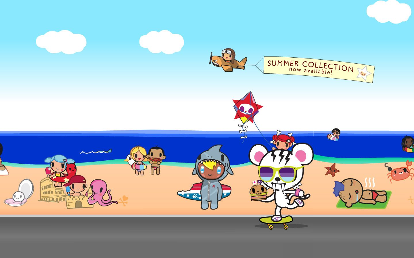 1440x900 Tokidoki Backgrounds | Tokidoki Characters | TokiDoki | Pinterest ...